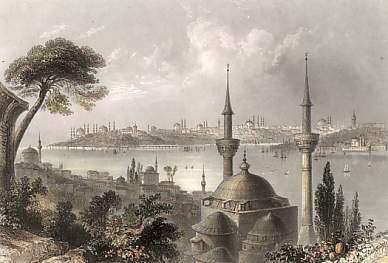 Constantinople, from Scutari
