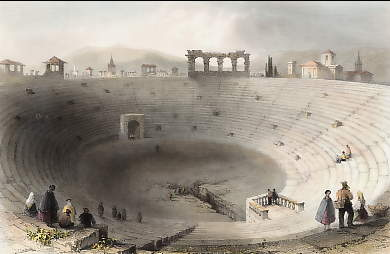 The Amphitheater, Verona, Italy