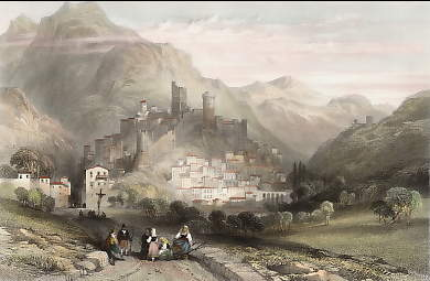 The Town and Castle of Itri