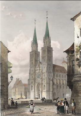 Eglise St Laurent, Nuremberg