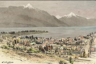 Queenstown et Lac Wakatipu