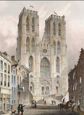 Cathedral, Brussels
