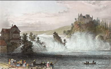 Fall of the Rhine, Near Schaffhausen