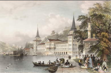 Cavalry Barracks, on the Bosphorus