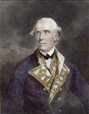 Honorable Samuel Barrington, Admiral of the White