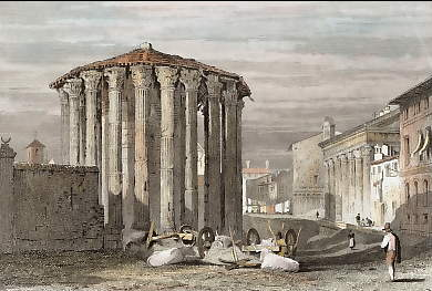 Temples of the Vesta and Fortuna Virilis, Rome