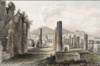 The Forum, Pompei, Italy
