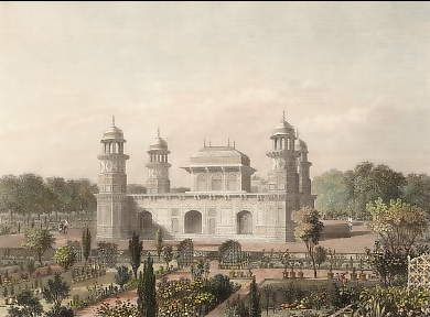 Tomb of Elmad-Ood Doulah, Agra