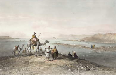 Suez, from the Mounds of the Ancient Canal