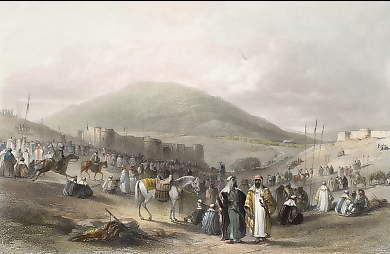 Fair at Khân Et-Tujjar, Near Mount Tabor
