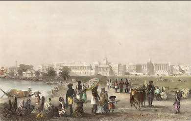 View of Calcutta from the Esplanade (1)