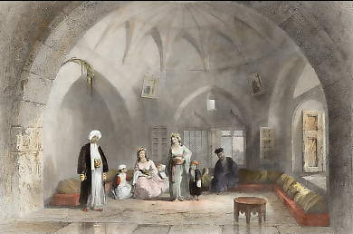 Interior of the House of a Christian Family in Jerusalem