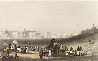 View of Calcutta from the Esplanade (2)