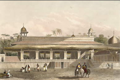 The Dewas Khan, or Hall of Audience, Palace of Delhi