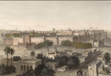 The King´s Palace at Delhi