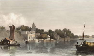 View of Cawnpore from the River