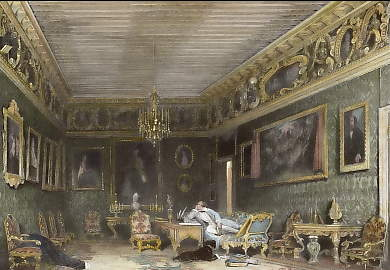Lord Byron´s Room in the Palazzo Moncenigo