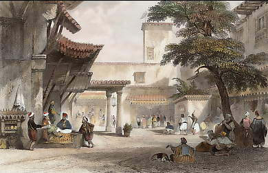 Bazaar of the Fig Tree, Algiers