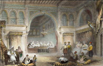 Interior of a Moorish Palace, Algiers