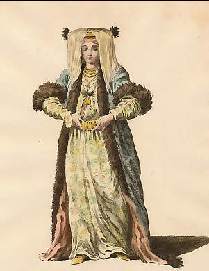 Bridal Habit of a Grecian Lady,  in 1700