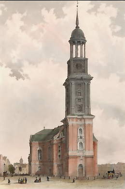 Die Michaeliskirche in Hamburg