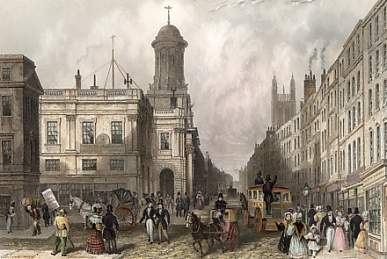 The Late Royal Exchange and Cornhill