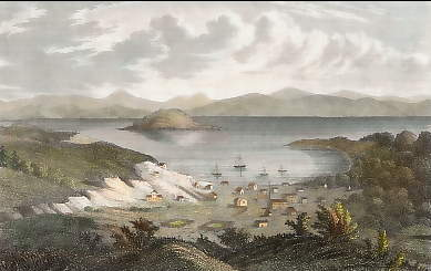 San Francisco im November 1848
