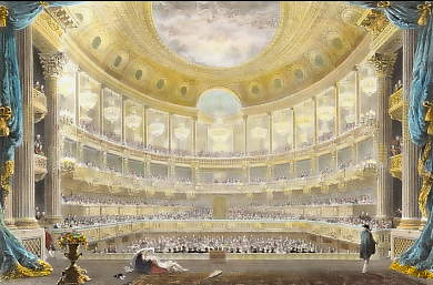 Theatre in the Palace of Versailles