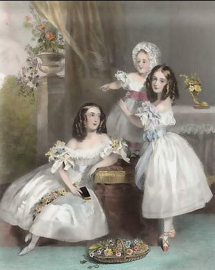 The Baby (The Ladies Emily Blanche Charlotte, Rose Caroline and Emily Catherine Anne Somerset)