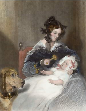The Marchioness of Abercorn and Child