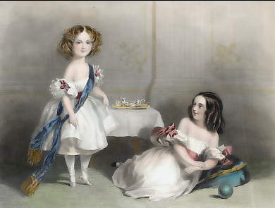 The Ladies Henrietta Louisa Priscilla and Geraldine Harriet Somerset