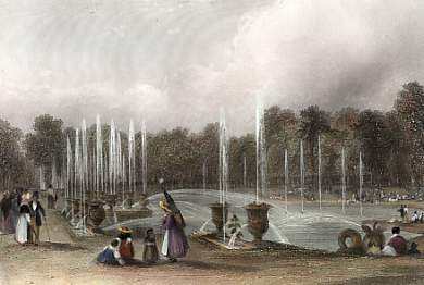 The Basin of Neptune, Versailles