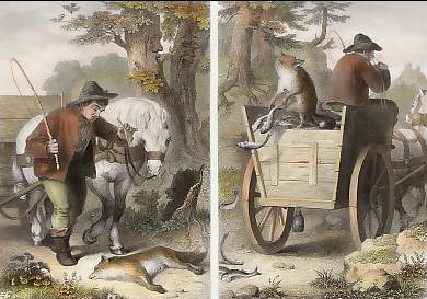 Reynard and the Fish-cart