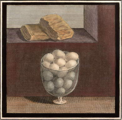 (Herculaneum: Fresco, Still Life with Eggs)