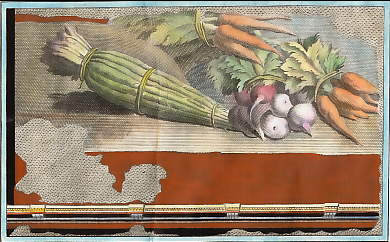 (Herculaneum: Fresco, Still Life with Asparagus, Carrots, Turnips and Radishes)