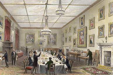 Thatched House Club, Dinner of the Dilettanti Society