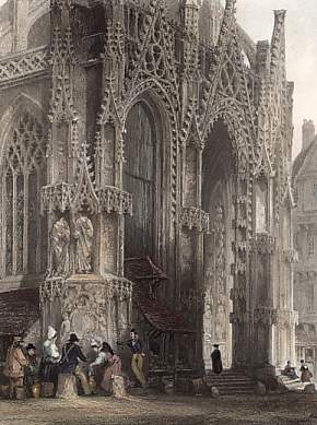 Fountain of St MacLou, Rouen