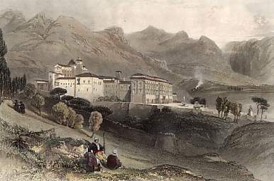 Convent of San Martino, Near Palermo, Sicily