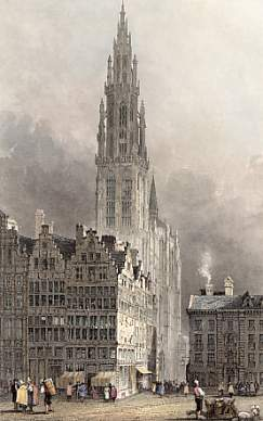Cathedral Tower, Antwerp
