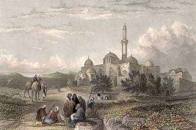 Mount Zion, Jerusalem, the Mosque of David