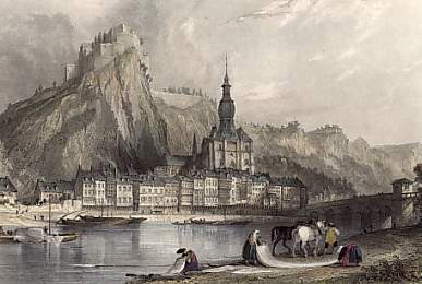 Town of Dinant, Upon the Meuse
