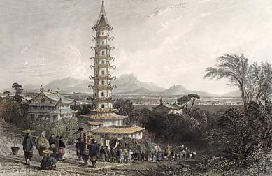 Porcelain Tower, Nanking