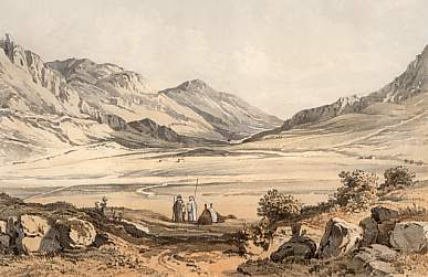 Valley of Sychem and Jacob´s Farm