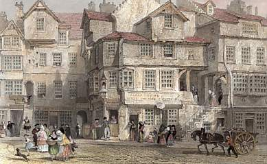 The House of John Knox, High Street, Edinburgh