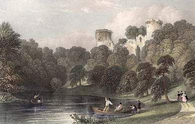 Bothwell Castle on the Clyde, Lanarkshire
