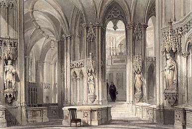 Chapel at Dreux, the Mausolum of the Orleans Family