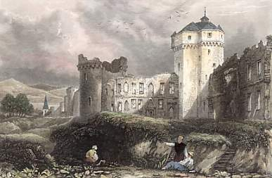 Ruins of the Castle of Andernach