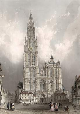West Front of Cathedral of Notre Dame, Antwerp