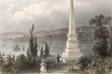Monument to Wolfe and Montcalm, Quebec