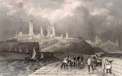 St Andrews from the Pier, Fifeshire